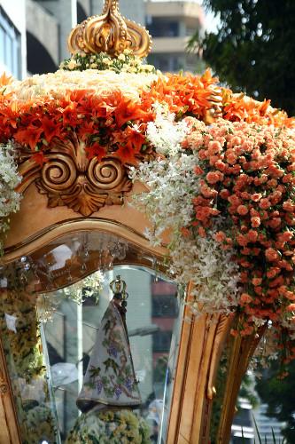 O Círio de Nazaré é uma festa religiosa tombada como patrimônio cultural imaterial do Brasil. [1]