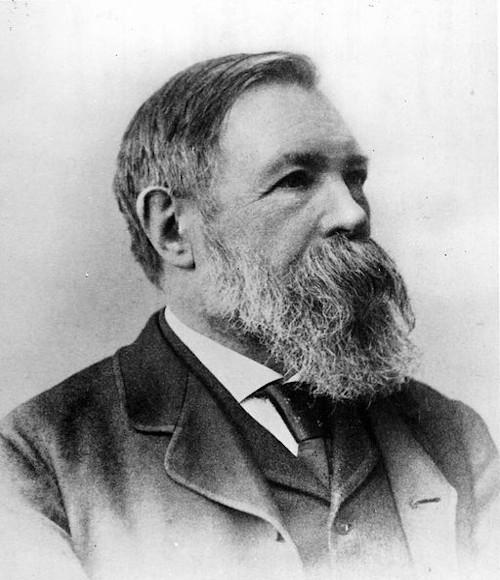 Friedrich Engels, um dos formuladores do socialismo científico e do materialismo histórico dialético.