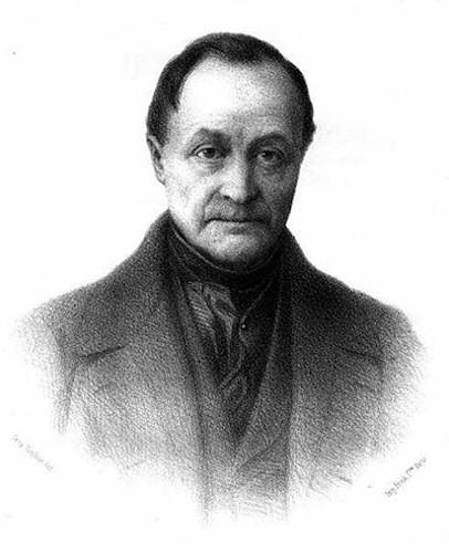 """Auguste Comte, o """"pai"""" da sociologia."""