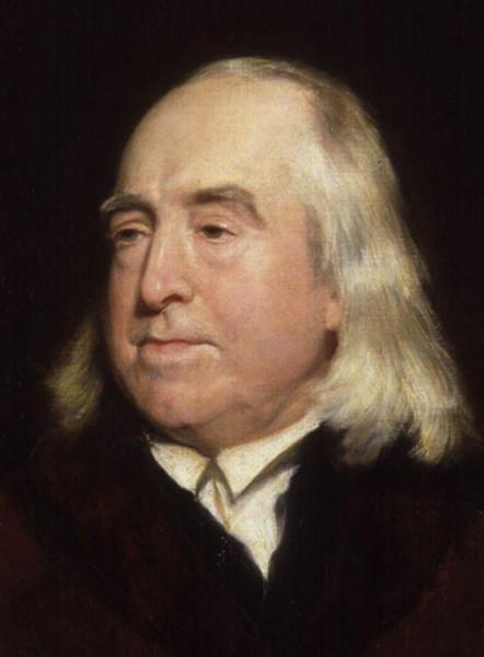 Bentham foi o primeiro formulador da teoria utilitarista da ética.