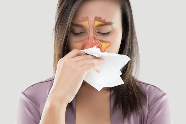 Na rinossinusite, os seios da face apresentam a mucosa com inflamação bem como a mucosa nasal.