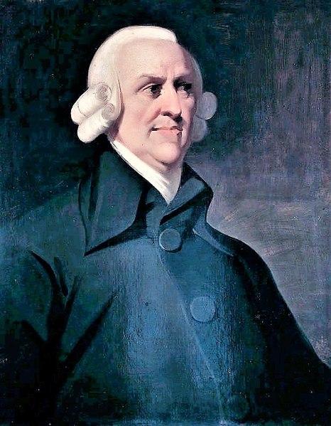 Adam Smith é o precursor da doutrina liberalista clássica.
