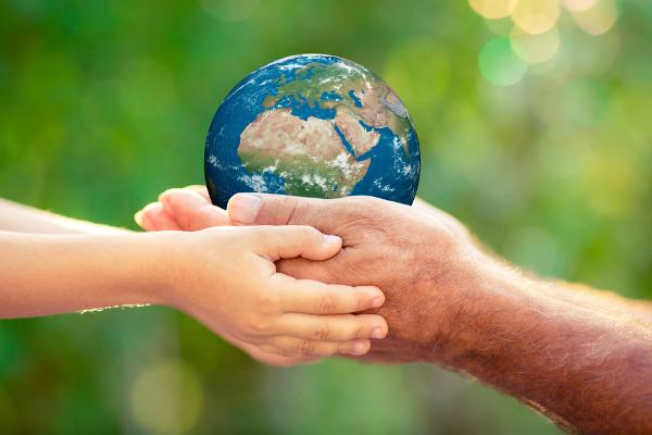 O Dia da Terra é comemorado, todos os anos, em 22 de abril. A data foi criada em 1970.