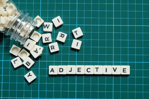 Os adjectives qualificam os substantivos que acompanham.