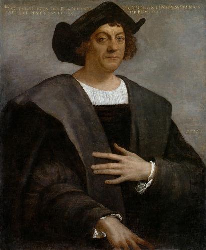 Cristóvão Colombo, nascido em Gênova, foi o líder da expedição que levou os europeus ao continente americano, em 1492. [1]