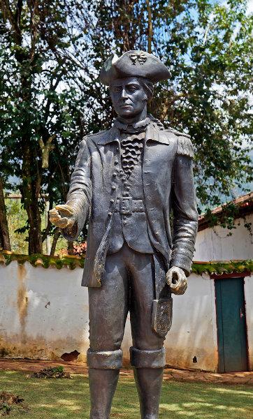 Estátua de Tiradentes. [1]