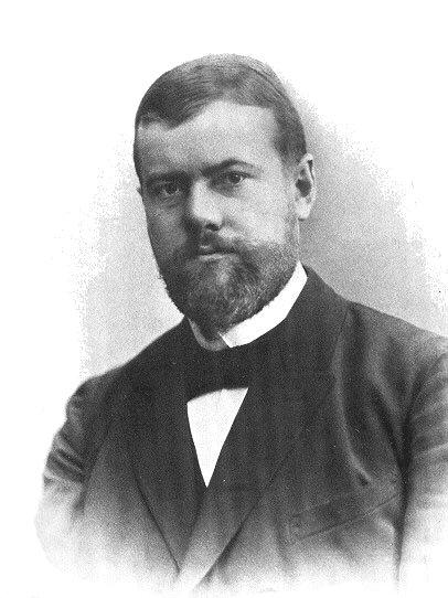 Max Weber, um dos pais da Sociologia Clássica.