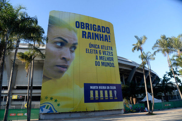 Homenagem para Marta no Estádio Maracanã [6]