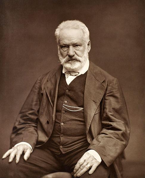 Desenho retratando Victor Hugo. [1]