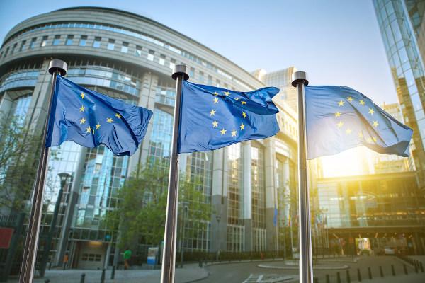 Bandeira da União Europeia – maior bloco econômico do mundo.