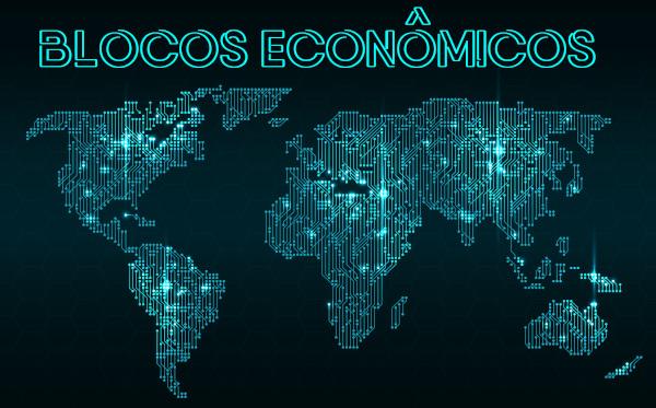 Os blocos econômicos são associações entre países com vistas ao desenvolvimento econômico de todos os membros.