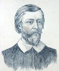 Retrato do poeta Gregório de Matos feito no século XIX por F. Briguiet. [1]
