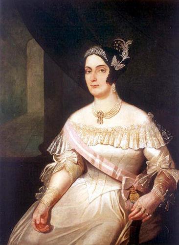 Domitila de Castro Canto e Melo casou-se duas vezes e ficou marcada na história por ter sido amante de d. Pedro I por sete anos.[1]