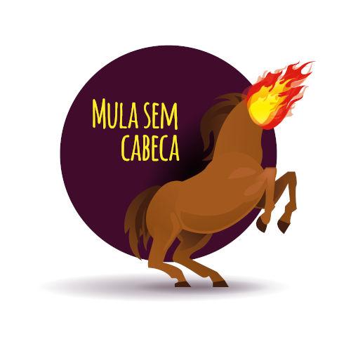 A lenda da mula sem cabeça foi trazida ao Brasil por influência dos portugueses.