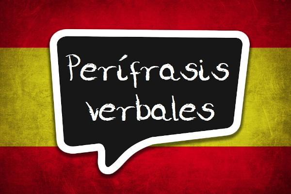 As perífrasis verbales são formadas pela junção de dois ou mais verbos que, juntos, têm um sentido próprio.