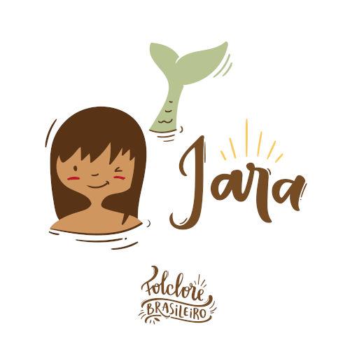 Iara é uma sereia que pertence a uma das lendas mais conhecidas do folclore brasileiro.