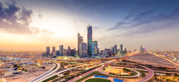Riad, capital da Arábia Saudita.