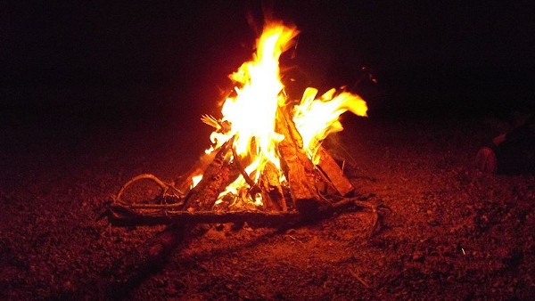 A descoberta do fogo foi muito importante. [2]