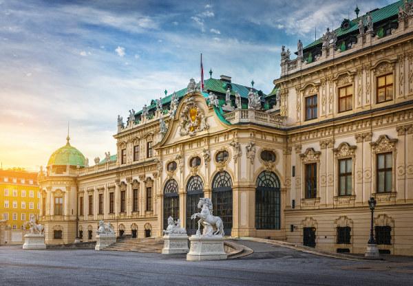 O Palácio Belvedere é um dos mais famosos museus da capital austríaca, Viena.