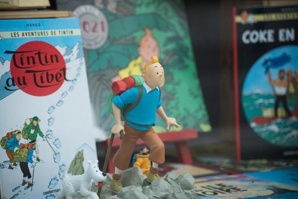 """O protagonista da famosa série """"As aventuras de Timtim"""" foi criado pelo artista belga Hergé, em 1929.[1]"""