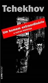 Capa do livro Um homem extraordinário e outras histórias, de Anton Tchekhov, publicado pela editora L&PM. [1]