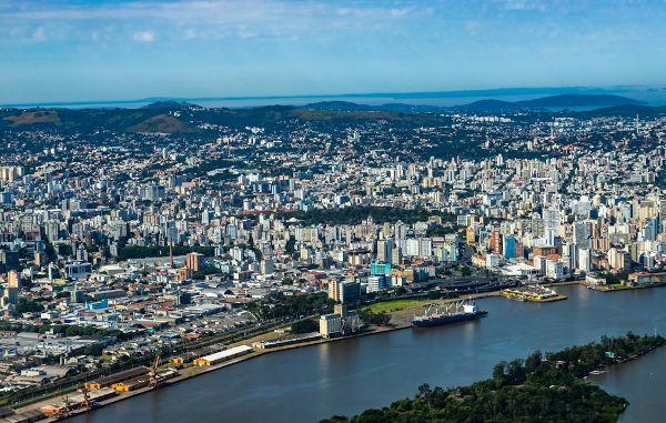 Porto Alegre abriga a sede do governo estadual.