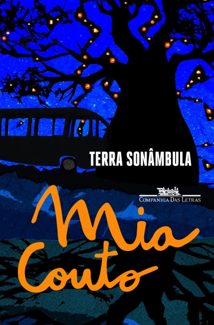 Capa do livro Terra sonâmbula, de Mia Couto, publicado pela editora Companhia das Letras. [2]