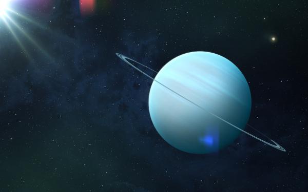 Urano possui 13 sistemas de finos anéis, os quais foram formados há mais de 600 milhões de anos.
