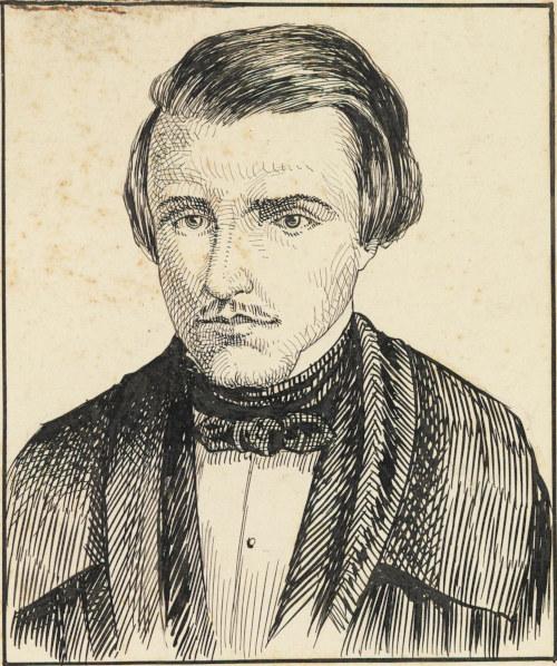 Álvares de Azevedo, desenho de M. J. Garnier.