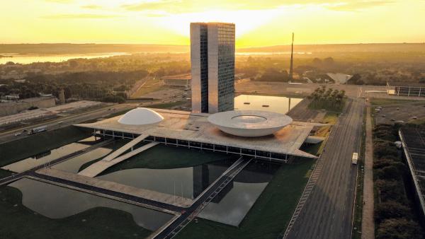 Brasília, sede do governo federal, é também Patrimônio da Humanidade pela Unesco.[1]