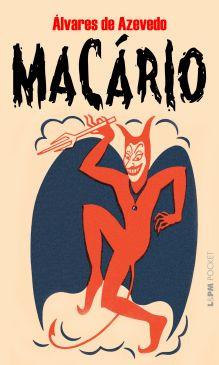 """Capa do livro """"Macário"""", de Álvares de Azevedo, publicado pela editora L&PM.[1]"""