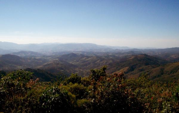 Vista da serra da Mantiqueira em Campos do Jordão (SP).