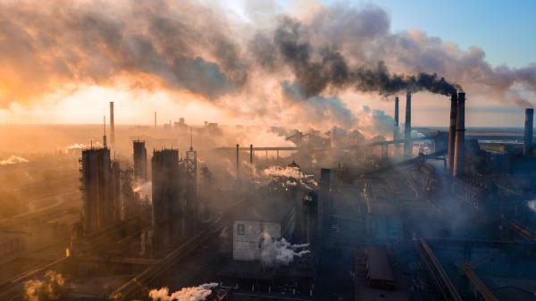 A poluição atmosférica está relacionada com a morte de várias pessoas todos os anos.