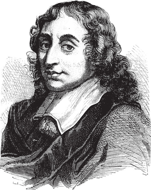 Blaise Pascal, filósofo, matemático e inventor francês.