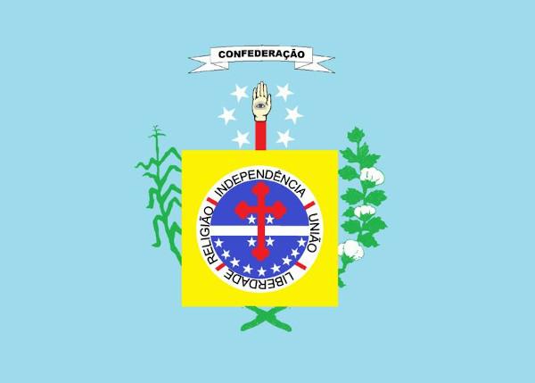 Bandeira da Confederação do Equador (1824).