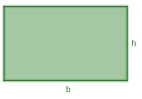 Exemplo de um retângulo.