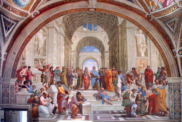 O início da metafísica está na filosofia grega clássica.
