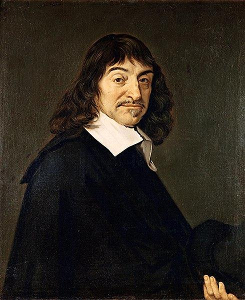 Retrato de René Descartes.
