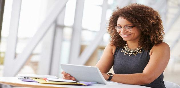 Destaque da mulher no mercado de trabalho