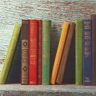 Livros de capas coloridas