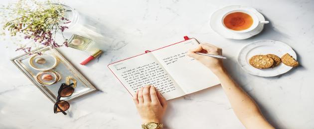 Saiba como criar um diário alimentar