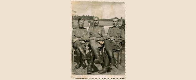 Soldados soviéticos que atuaram durante a Batalha de Khalkhin Gol