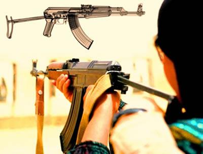 A AK-47 tornou-se um dos mais expressivos ícones da tecnologia militar do século XX.