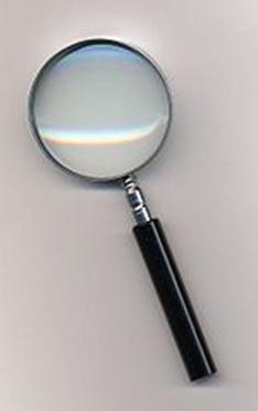 Instrumento óptico conhecido como lupa
