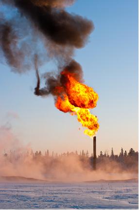 Gás metano sofrendo combustão na presença do oxigênio do ar