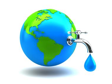 O mundo vem consumindo cada vez mais água doce