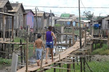 Moradias sem saneamento básico na cidade de Altamira (PA)¹