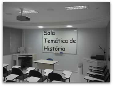 As salas temáticas proporcionam uma aprendizagem significativa para os alunos