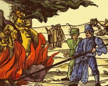 A Inquisição torturou e executou várias pessoas acusadas de crimes contra a fé católica.