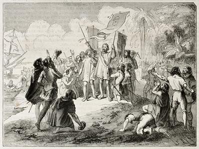 O intercâmbio colombiano, iniciado com a chegada do genovês Cristóvão Colombo à América, alterou profundamente as formas de vida da humanidade